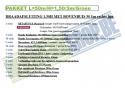 - - Afsluiting zonder betonplaat - Pakket 50/1,50/3/G