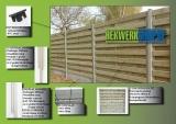 Ga naar Alle onderdelen van houten tuinschermen