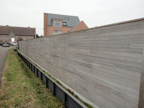 Houten Scheidingswand Tuin : Voorbeelden en afbeeldingen van tuinschermen in hout